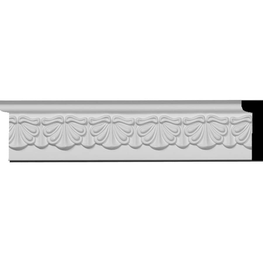 Ekena Millwork Acanthus Leaf 2.5-in x 7.88-ft Polyurethane Connector Wall Panel Moulding