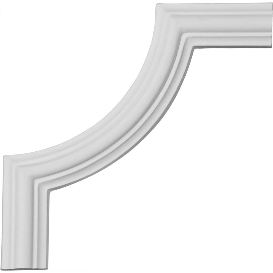 Ekena Millwork 5.875-in x 0.49-ft Primed Polyurethane Corner Panel Picture Frame Moulding