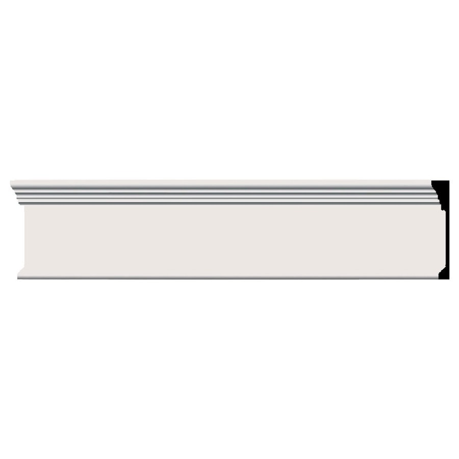 Ekena Millwork Odessa 7.75-in x 8-ft Primed Polyurethane Connector Wall Panel Moulding