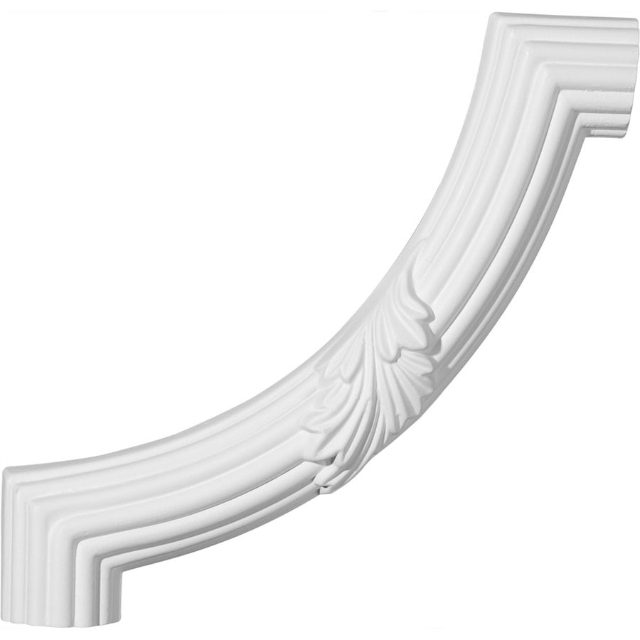 Ekena Millwork 8.875-in x 0.74-ft Polyurethane Panel Corner Picture Frame Moulding