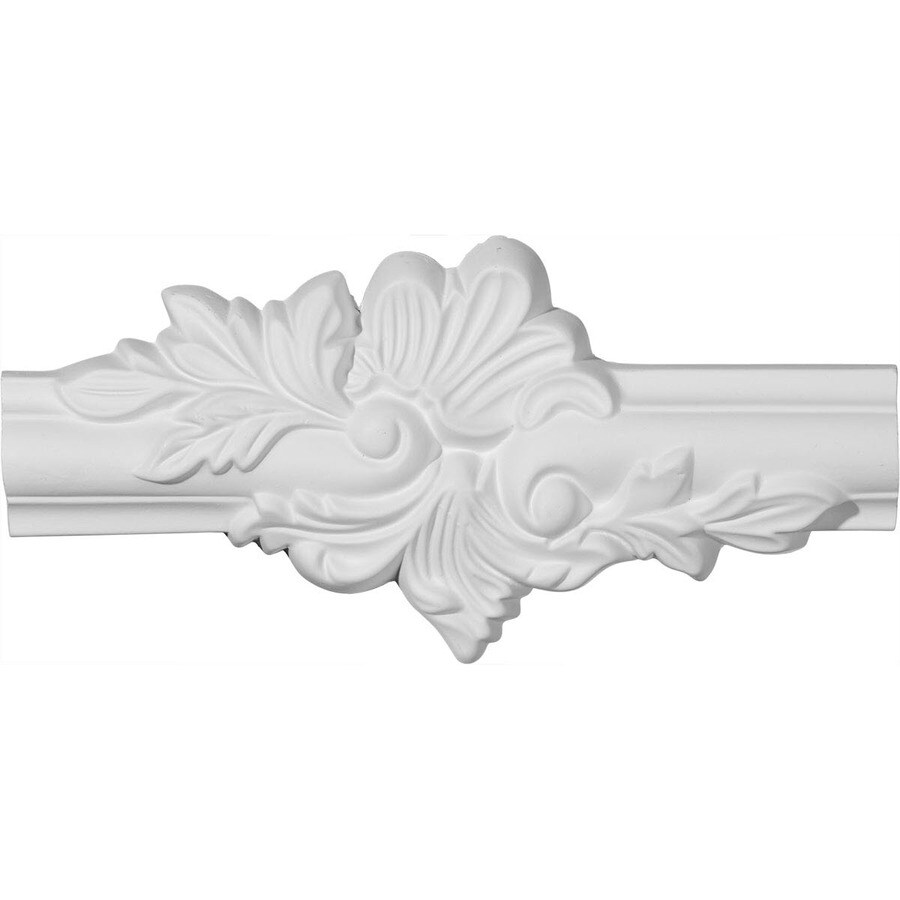 Shop ekena millwork 925 in x 035 ft primed polyurethane corner ekena millwork 925 in x 035 ft primed polyurethane corner panel picture frame moulding jeuxipadfo Images