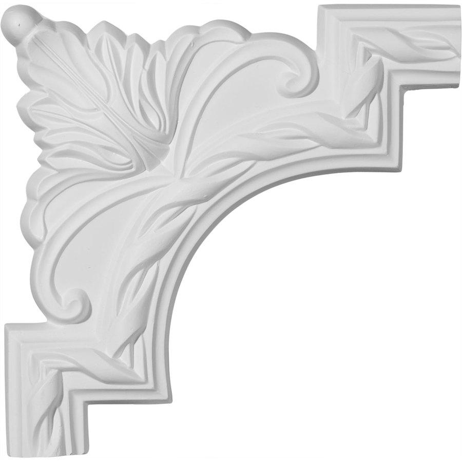 Ekena Millwork 9-in x 0.75-ft Polyurethane Panel Corner Picture Frame Moulding