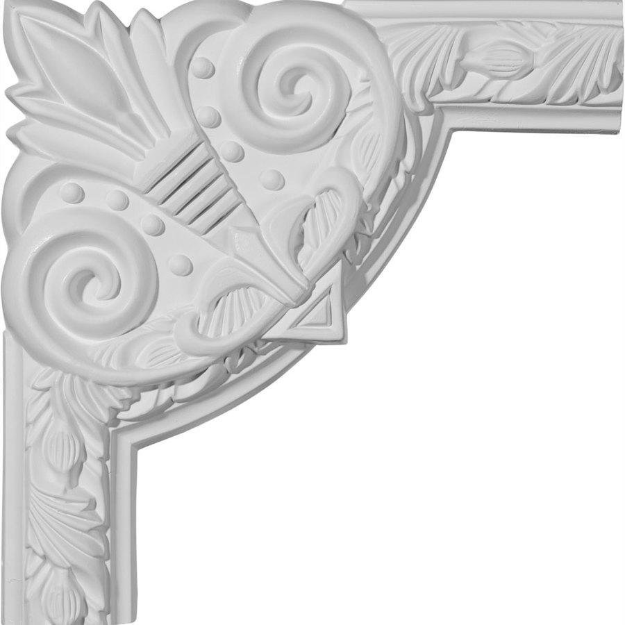 Ekena Millwork 9.75-in x 0.81-ft Polyurethane Panel Corner Picture Frame Moulding