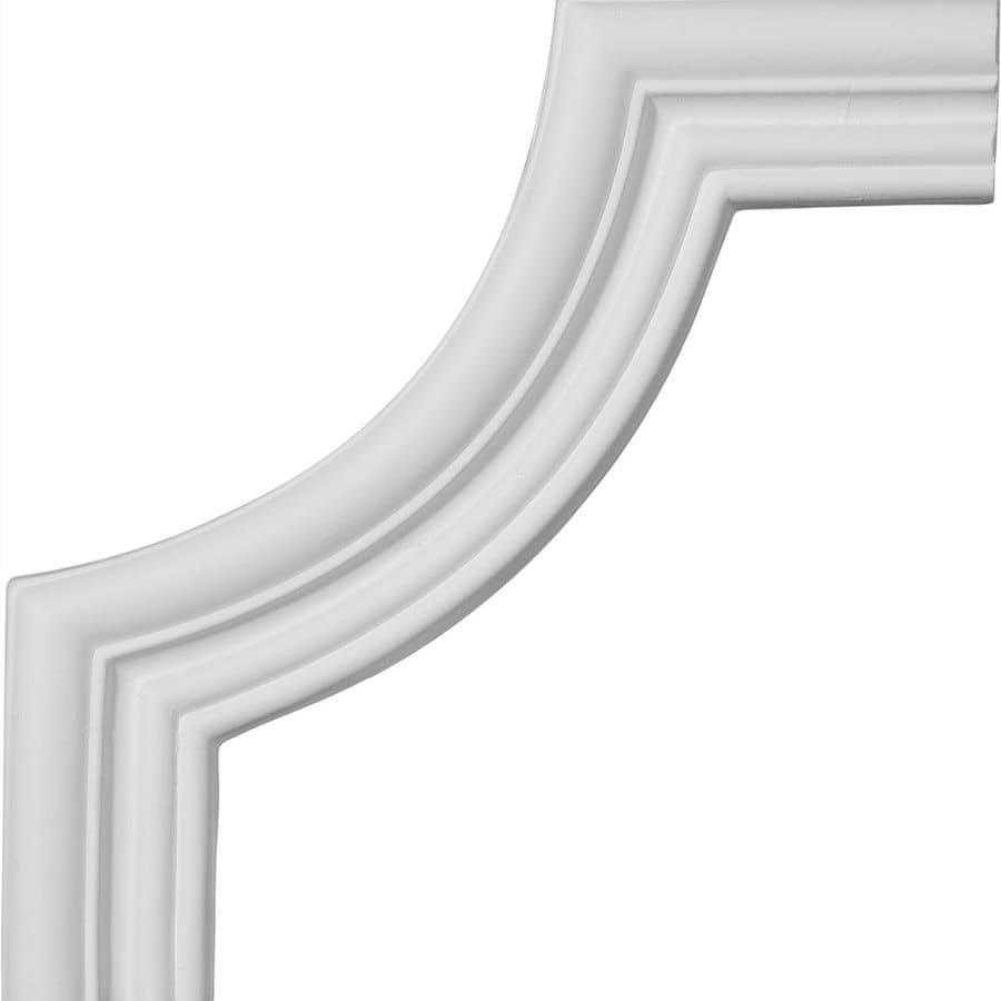 Ekena Millwork 7.75-in x 0.65-ft Polyurethane Panel Corner Picture Frame Moulding