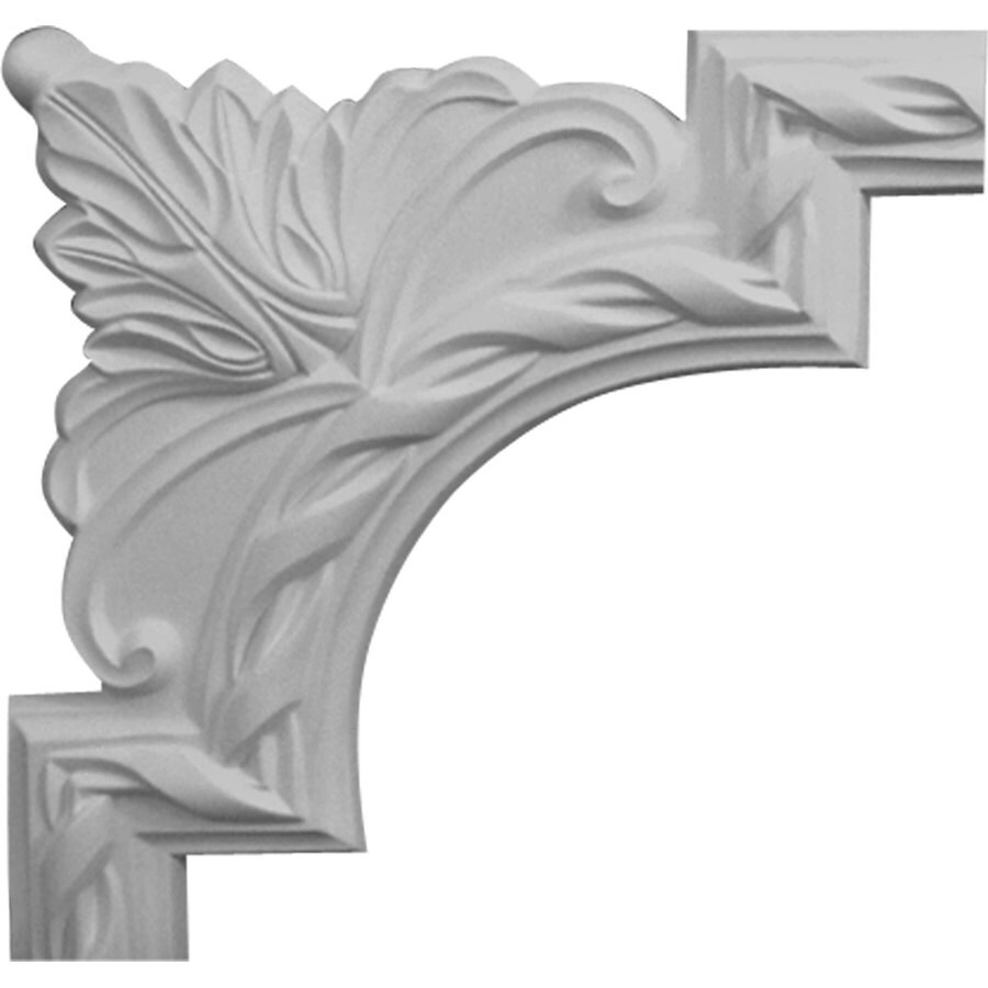 Ekena Millwork 9.375-in x 0.78-ft Polyurethane Panel Corner Picture Frame Moulding