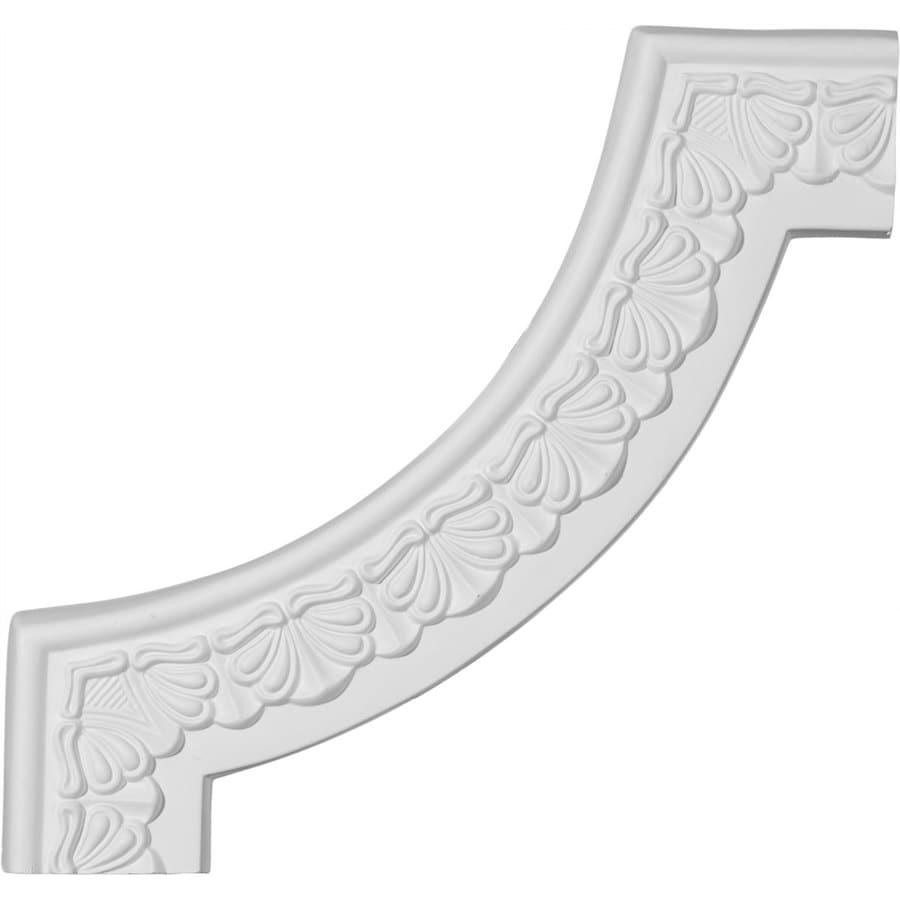 Ekena Millwork 10.875-in x 0.91-ft Primed Polyurethane Corner Panel Picture Frame Moulding