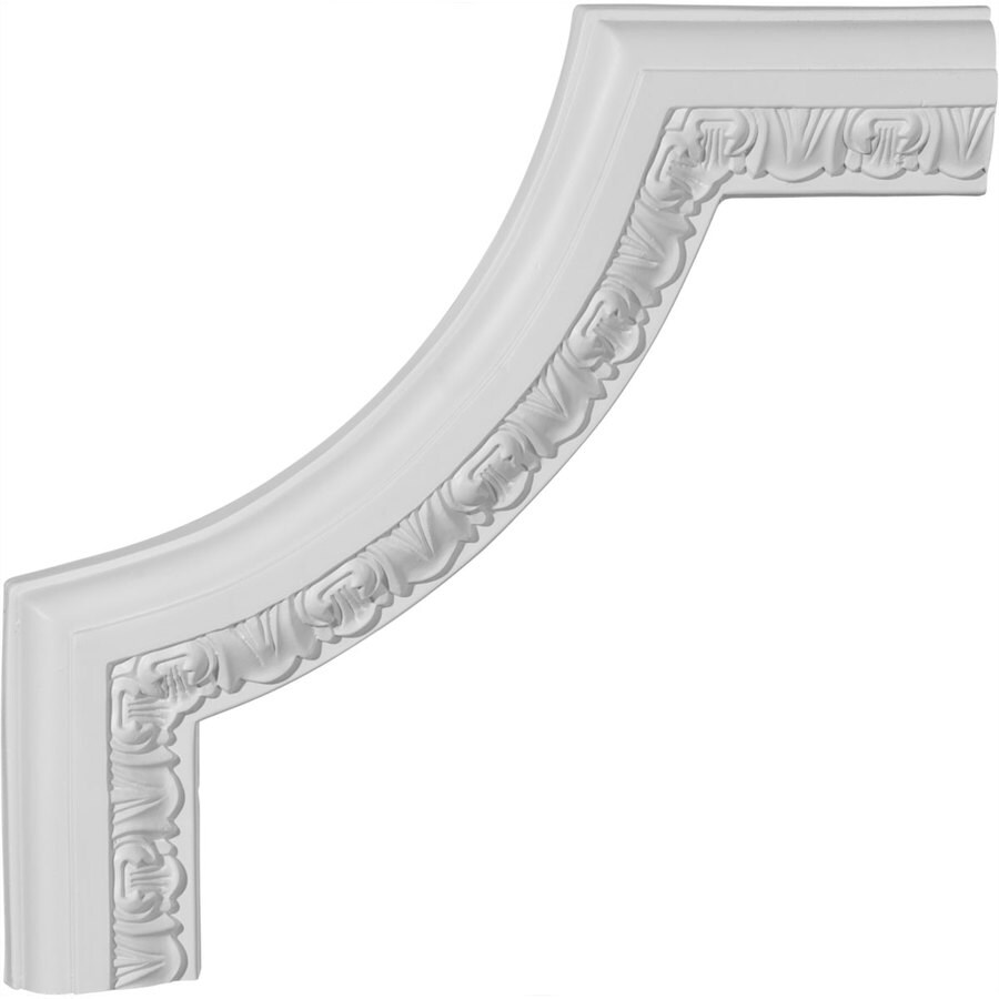 Ekena Millwork 10.625-in x 0.89-ft Polyurethane Panel Corner Picture Frame Moulding