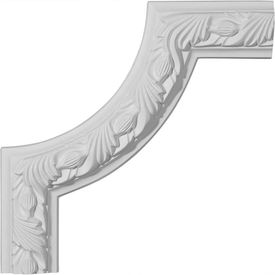 Ekena Millwork 10-in x 0.83-ft Polyurethane Panel Corner Picture Frame Moulding