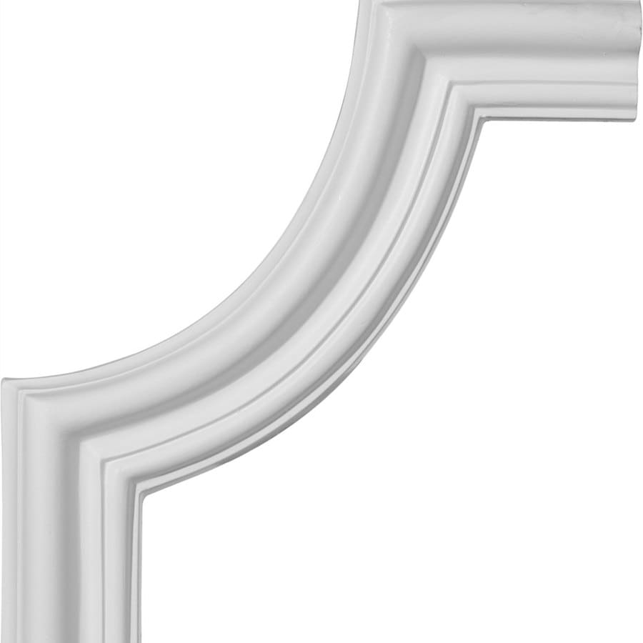 Ekena Millwork 10.5-in x 0.88-ft Polyurethane Panel Corner Picture Frame Moulding