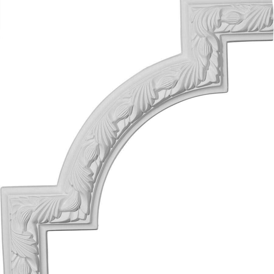 Ekena Millwork 12.75-in x 1.06-ft Primed Polyurethane Corner Panel Picture Frame Moulding