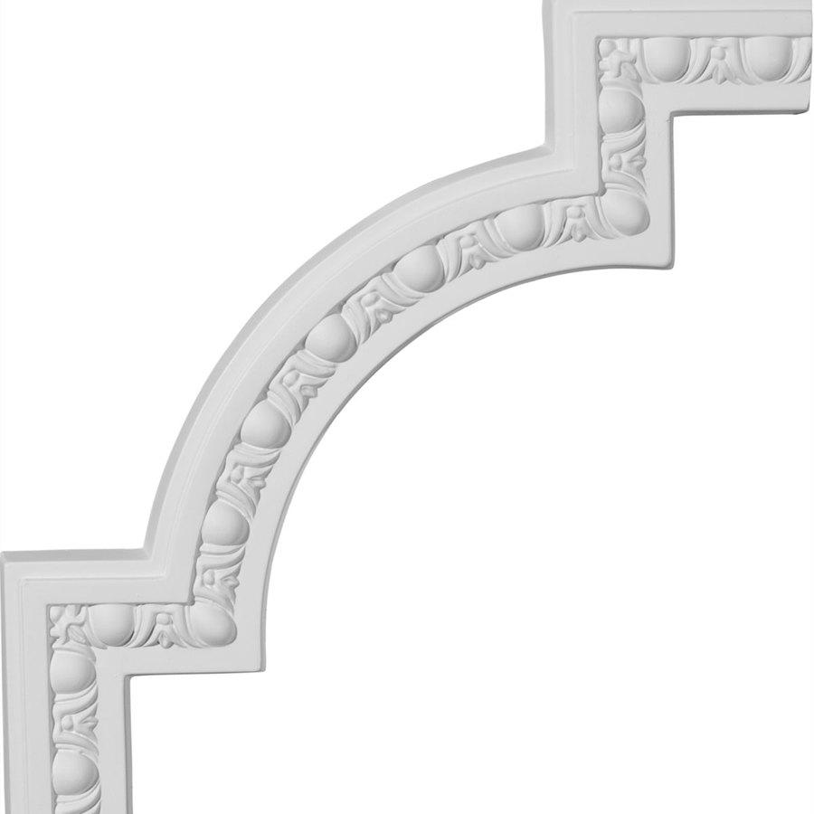 Ekena Millwork 12.875-in x 1.07-ft Polyurethane Panel Corner Picture Frame Moulding