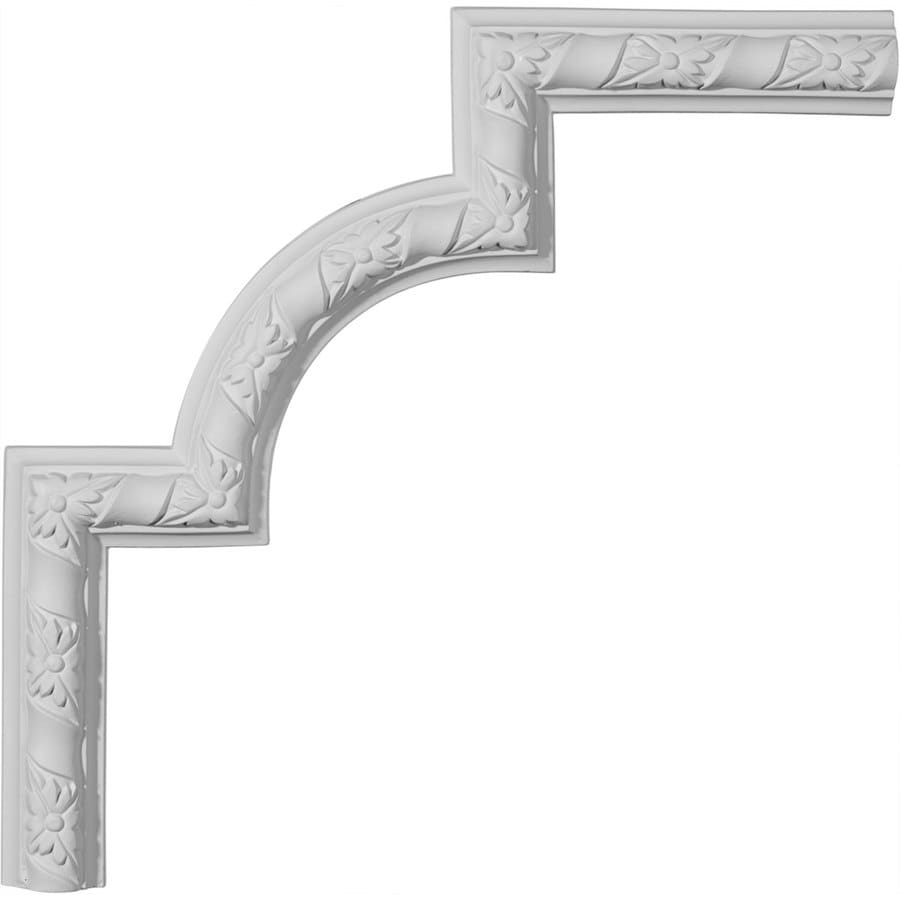 Ekena Millwork 13.5-in x 1.13-ft Primed Polyurethane Corner Panel Picture Frame Moulding