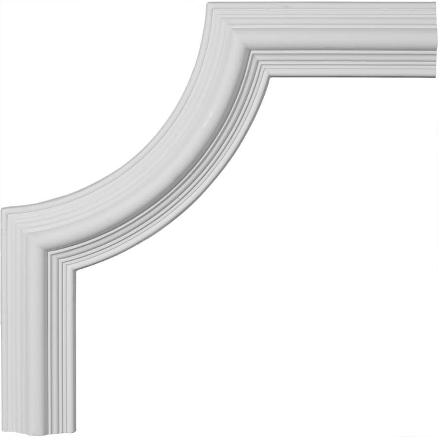 Ekena Millwork 17.75-in x 1.48-ft Polyurethane Panel Corner Picture Frame Moulding