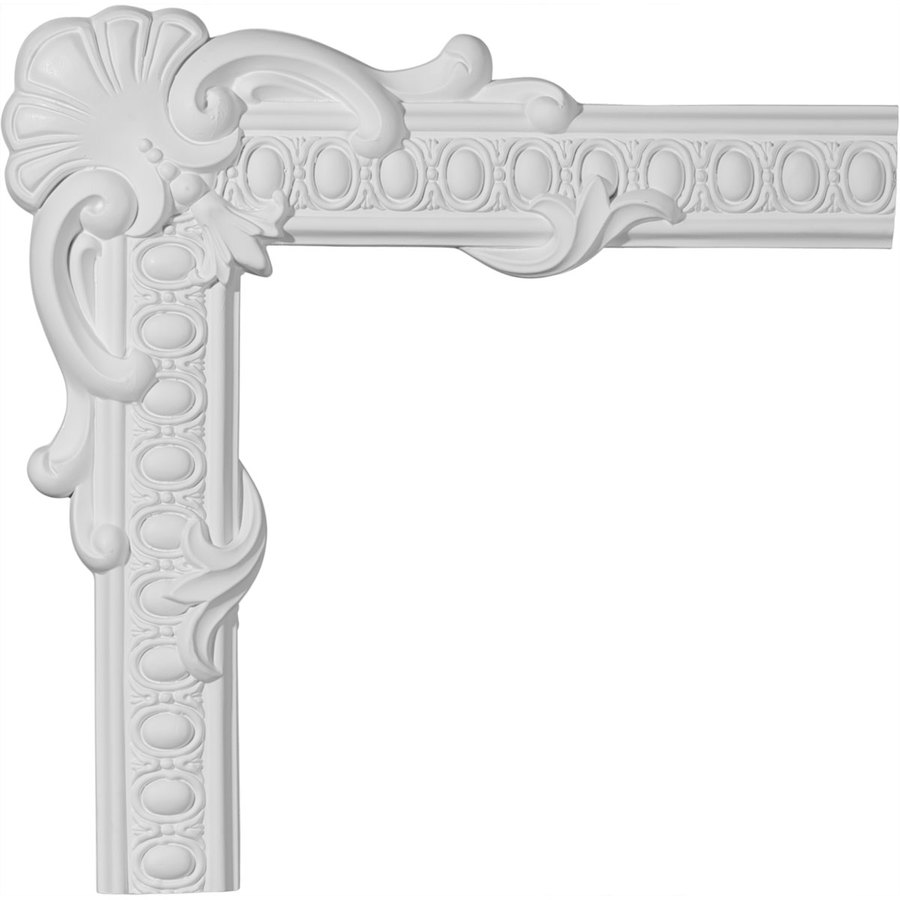 Ekena Millwork 19.875-in x 1.66-ft Polyurethane Panel Corner Picture Frame Moulding
