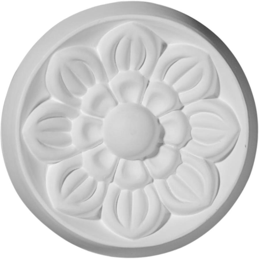 Ekena Millwork Small Flower Round Polyurethane Rosette