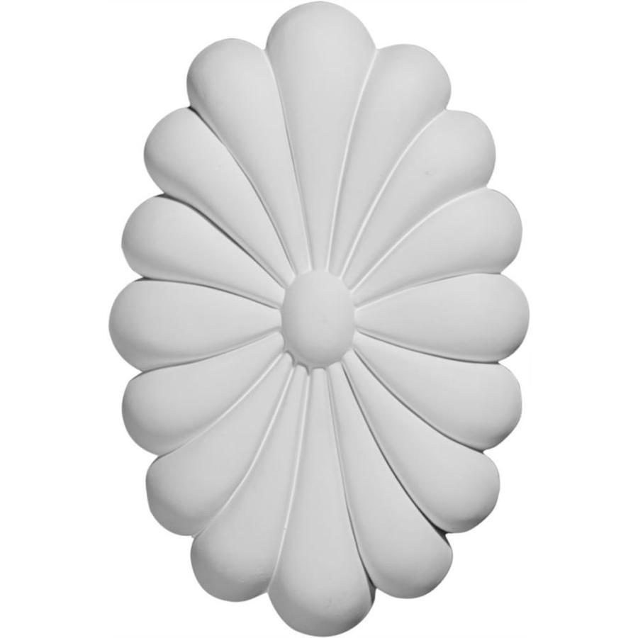Ekena Millwork Madrid Oval Polyurethane Rosette