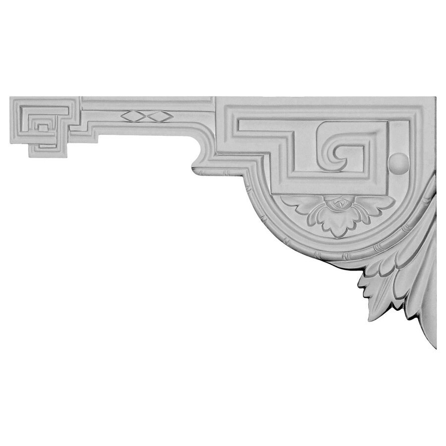 Ekena Millwork 11-in x 6.375-in Legacy Primed Urethane Applique