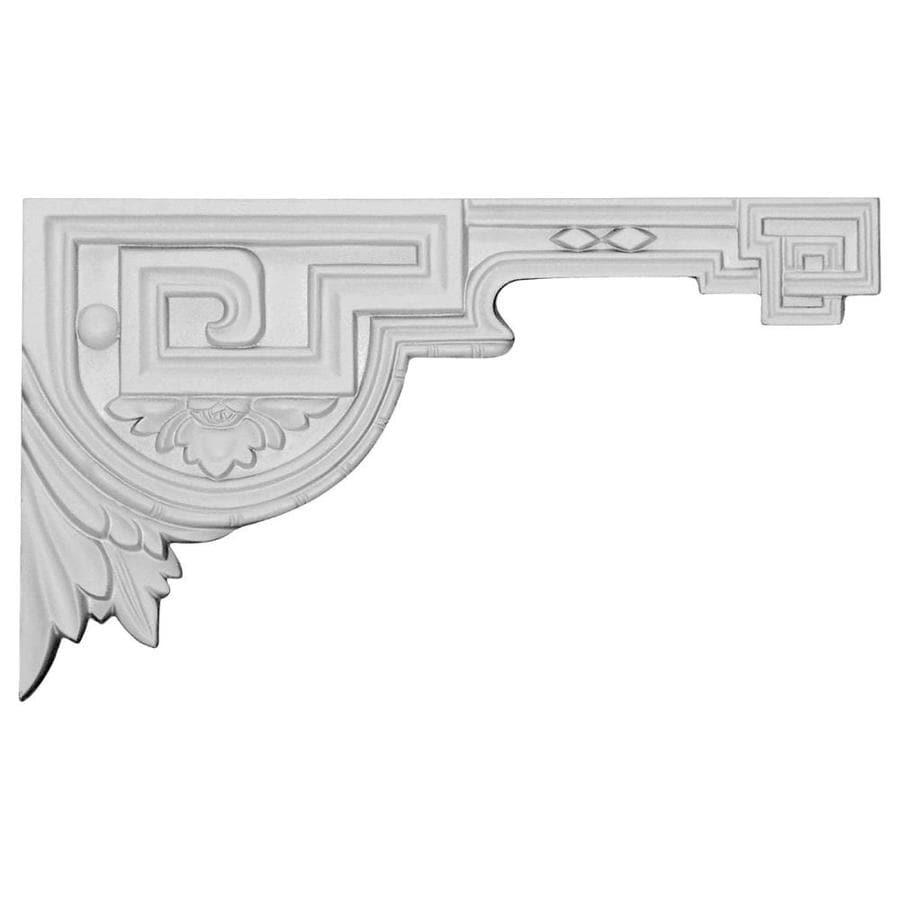 Ekena Millwork 11-in x 6.375-in Legacy Primed Urethane Applique