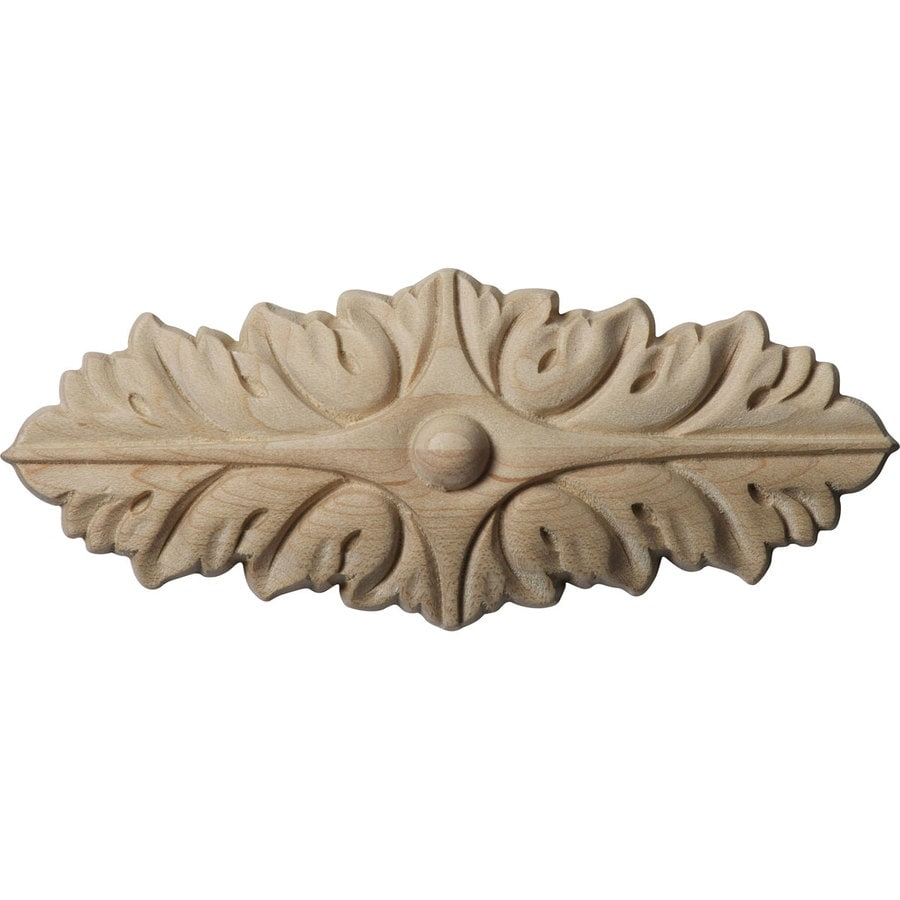 Ekena Millwork 5-in x 2-in Oxford Wood Applique