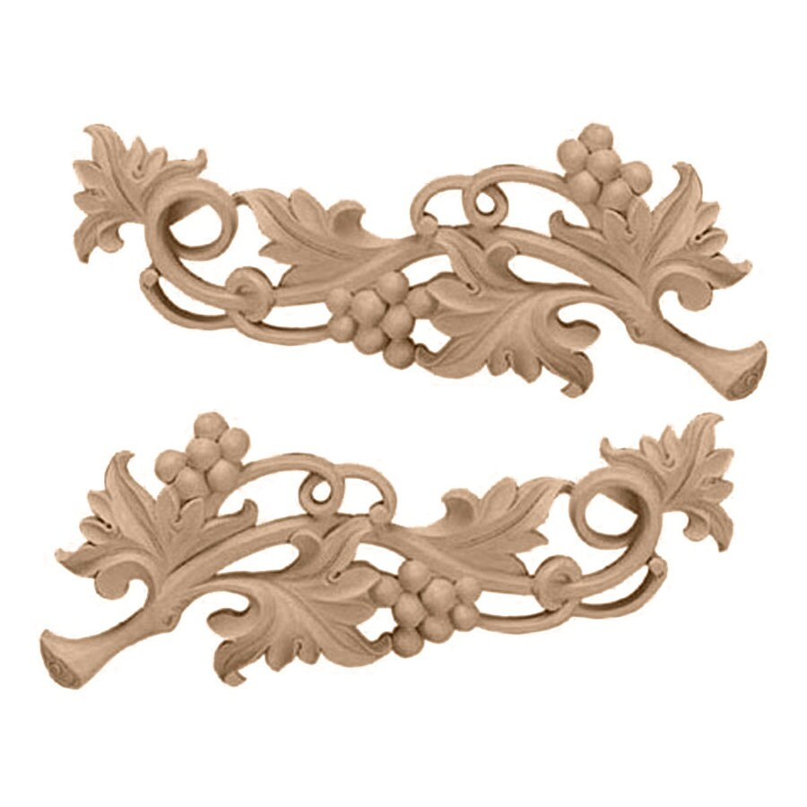 Ekena Millwork 14.5-in x 5.625-in Maple Applique
