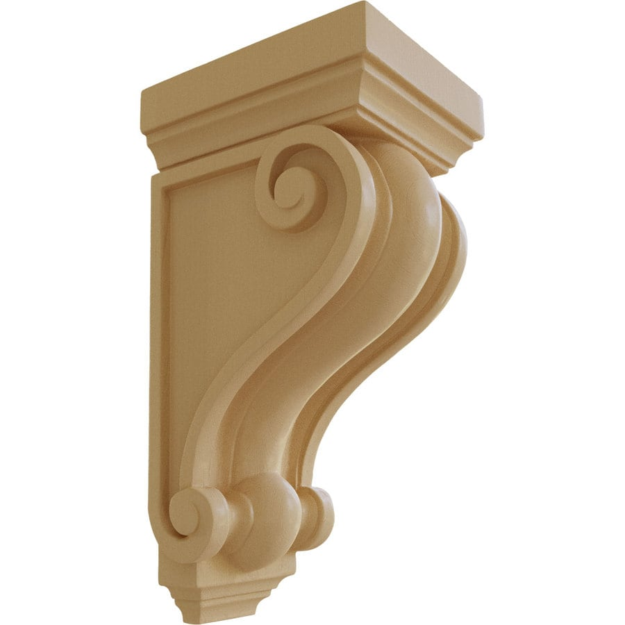 Ekena Millwork 6-in x 13.25-in Devon Traditional Maple Corbel