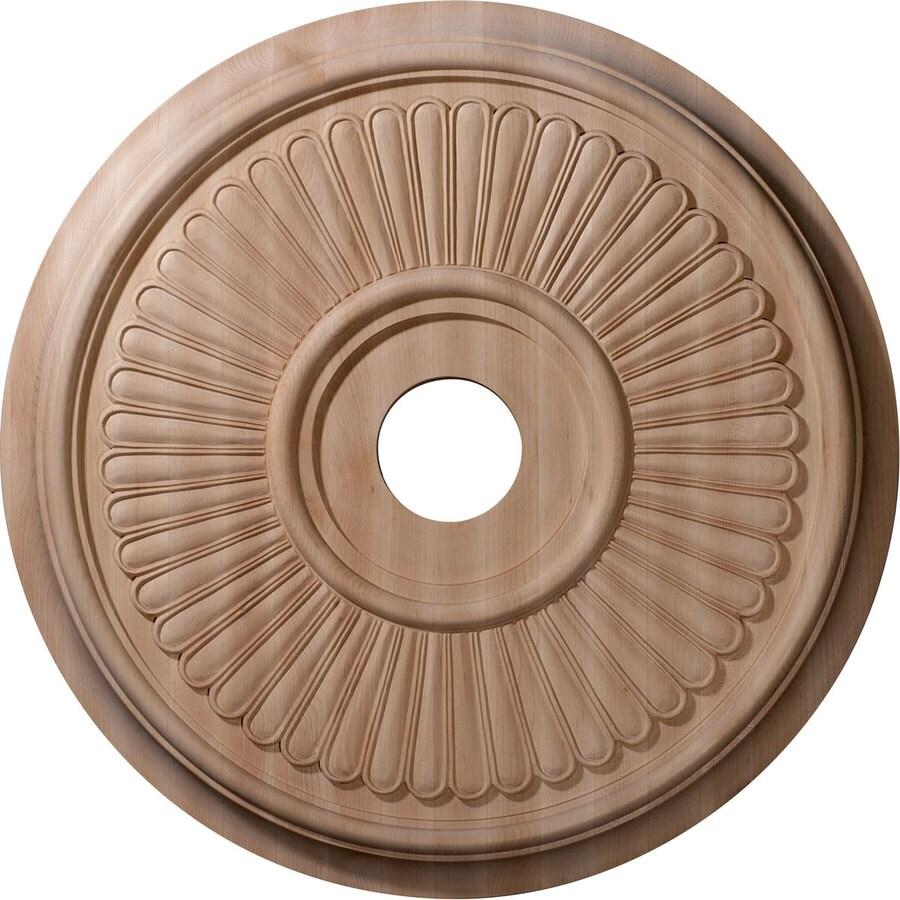 Ekena Millwork Berkshire 24-in x 24-in Wood Ceiling Medallion