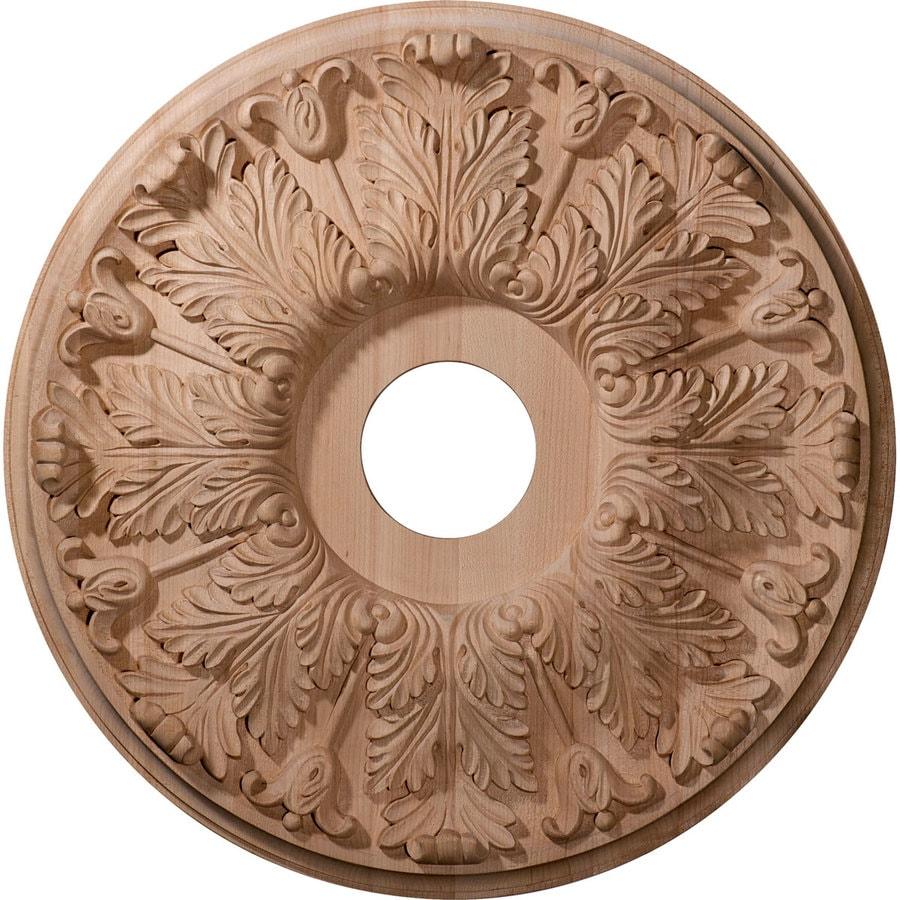 Ekena Millwork Florentine 16-in x 16-in Wood Ceiling Medallion