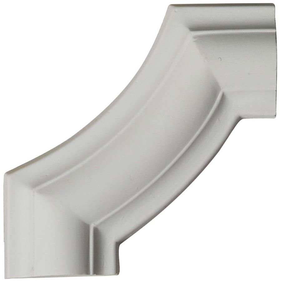 Ekena Millwork 4-in x 0.33-ft Polyurethane Panel Corner Picture Frame Moulding