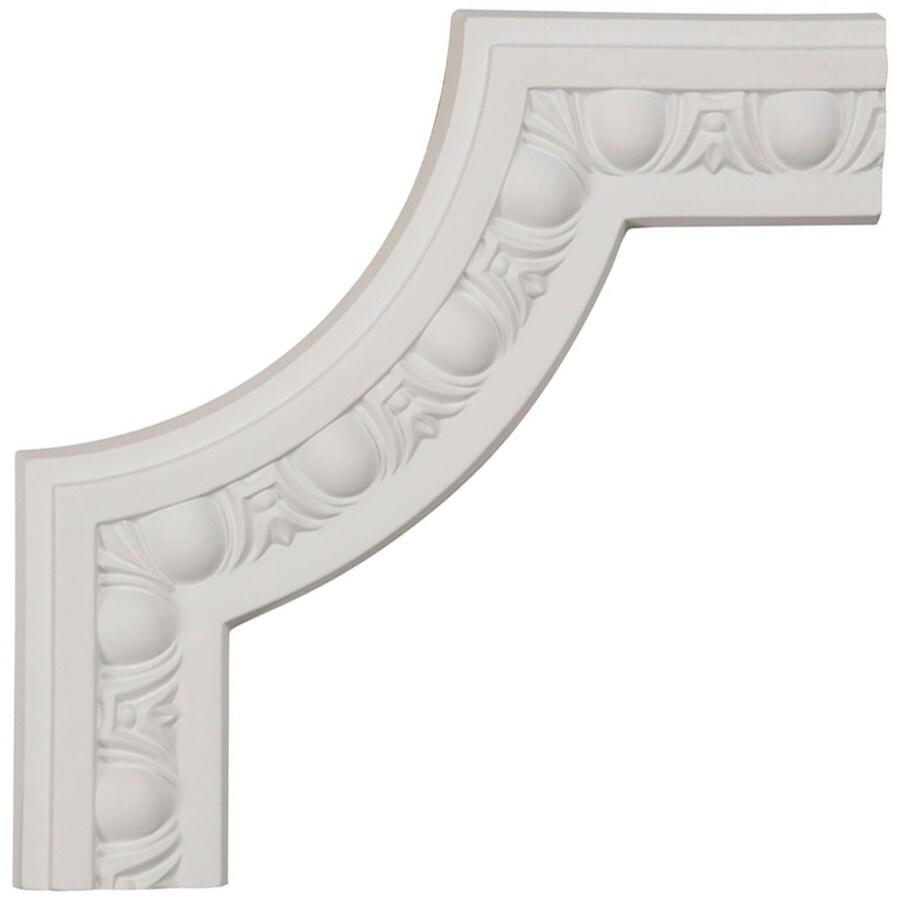 Ekena Millwork 8-in x 0.67-ft Primed Polyurethane Corner Panel Picture Frame Moulding