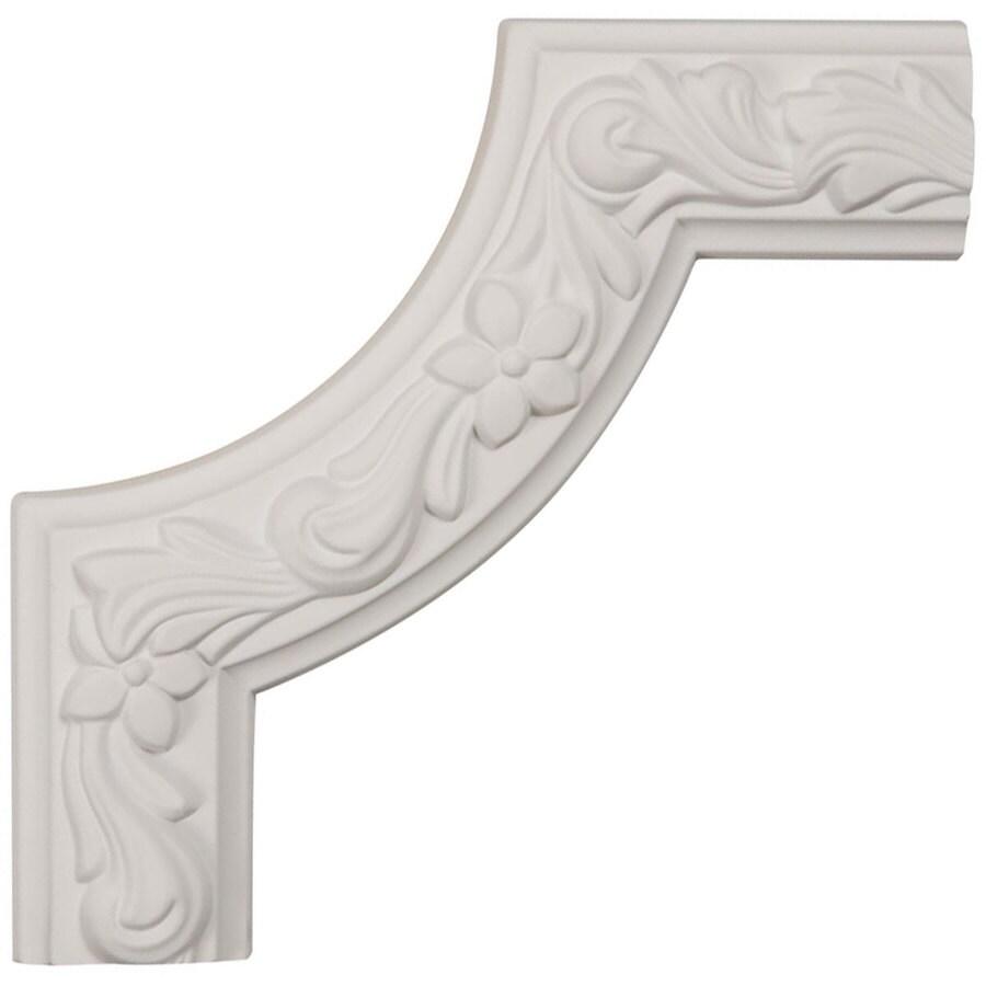 Ekena Millwork 8-in x 0.67-ft Polyurethane Panel Corner Picture Frame Moulding