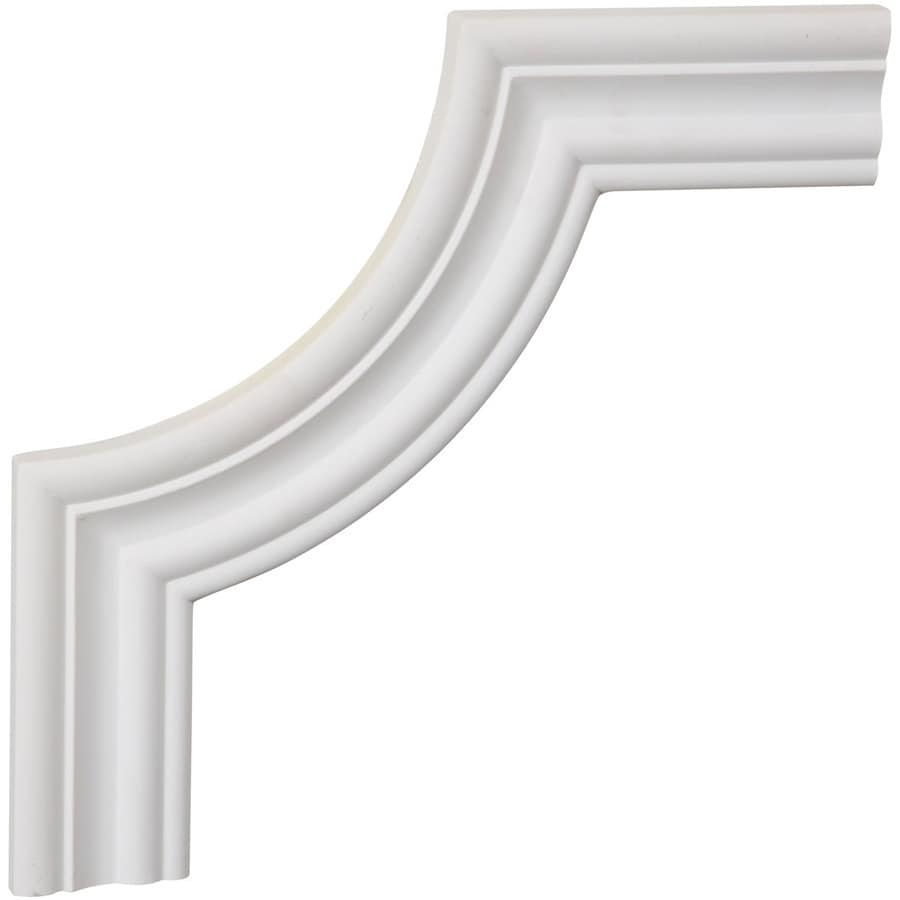 Ekena Millwork 10-in x 0.83-ft Primed Polyurethane Corner Panel Picture Frame Moulding