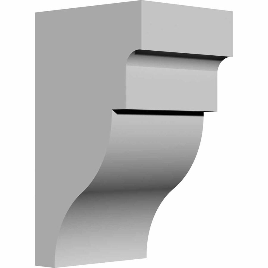 Ekena Millwork 3.5-in x 7-in Wigan Polyurethane Corbel
