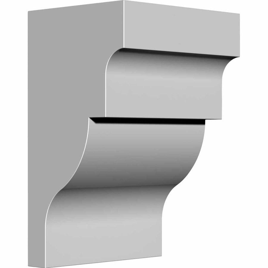 Ekena Millwork 5.25-in x 8-in Primed Polyurethane Corbel