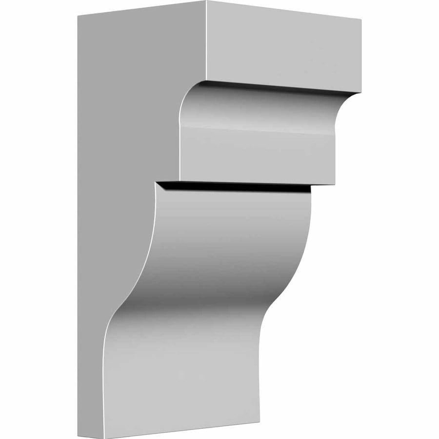Ekena Millwork 5.25-in x 10-in Wigan Polyurethane Corbel