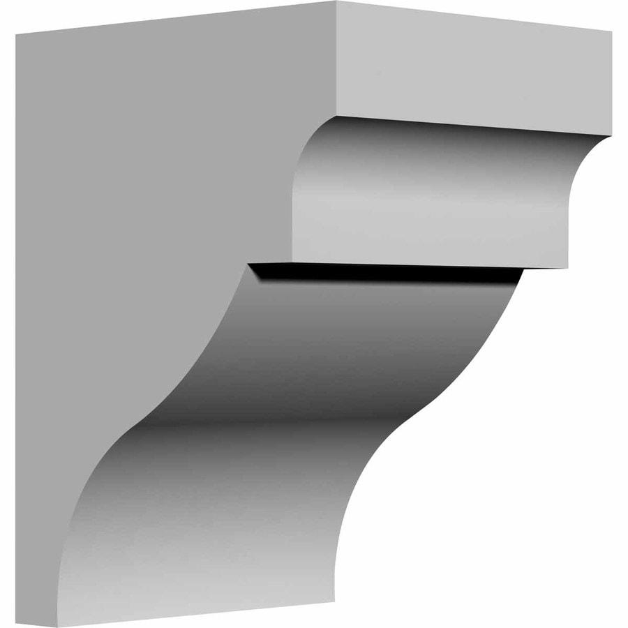 Ekena Millwork 6-in x 8-in Wigan Polyurethane Corbel
