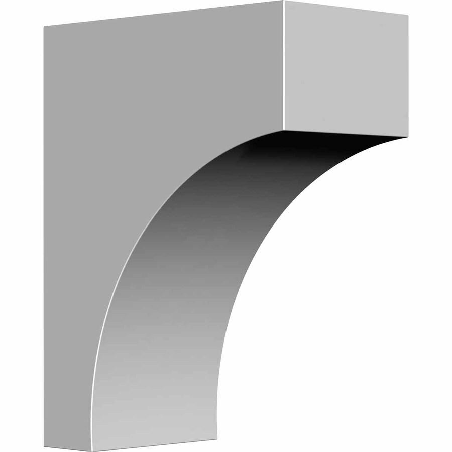 Ekena Millwork 3-in x 7.25-in Stockport Primed Polyurethane Corbel