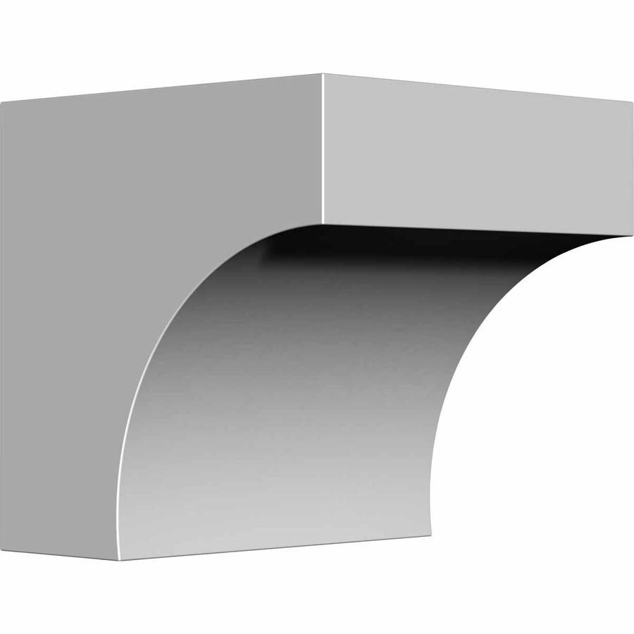 Ekena Millwork 5-in x 5.5-in Primed Polyurethane Corbel