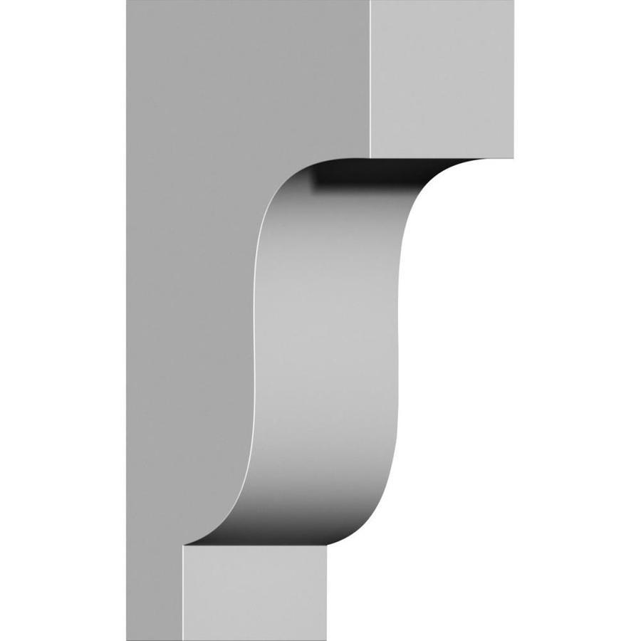 Ekena Millwork 4.5-in x 14-in Traditional Polyurethane Corbel