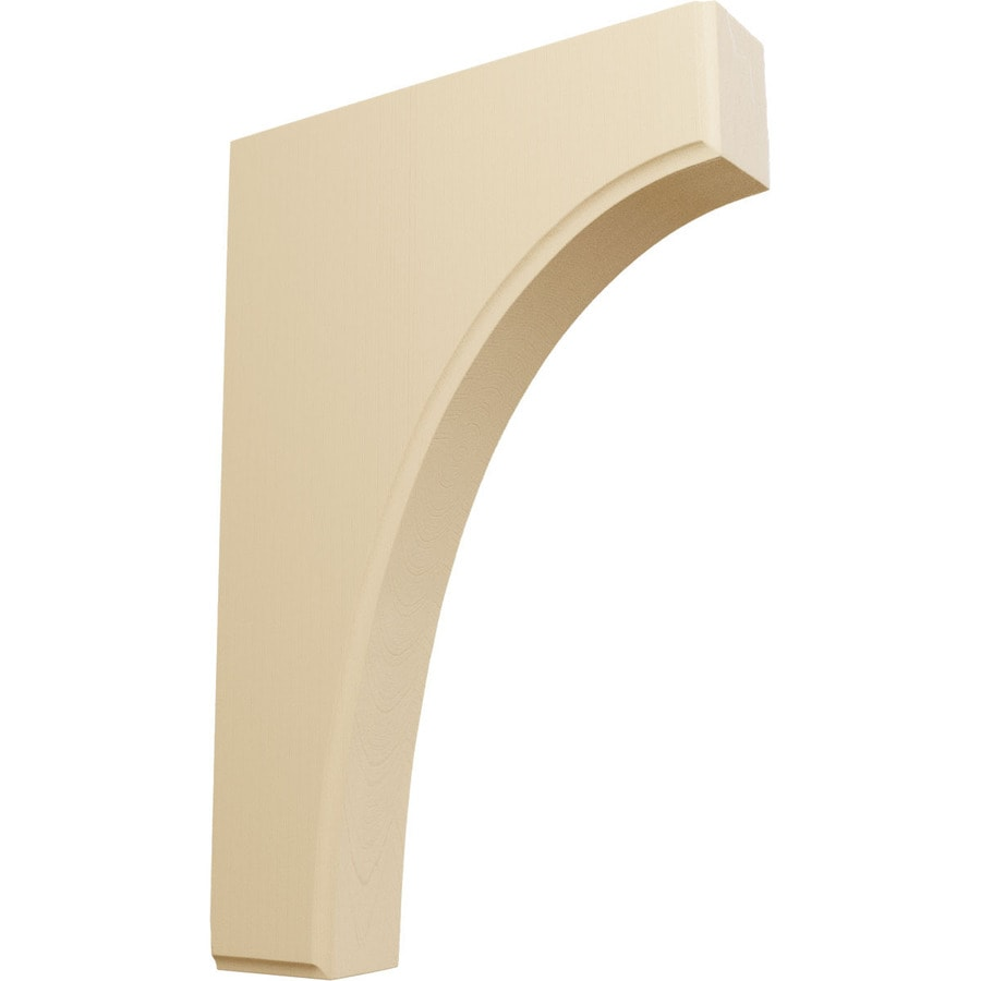 Ekena Millwork 1.75-in x 12-in Maple Clarksville Wood Corbel