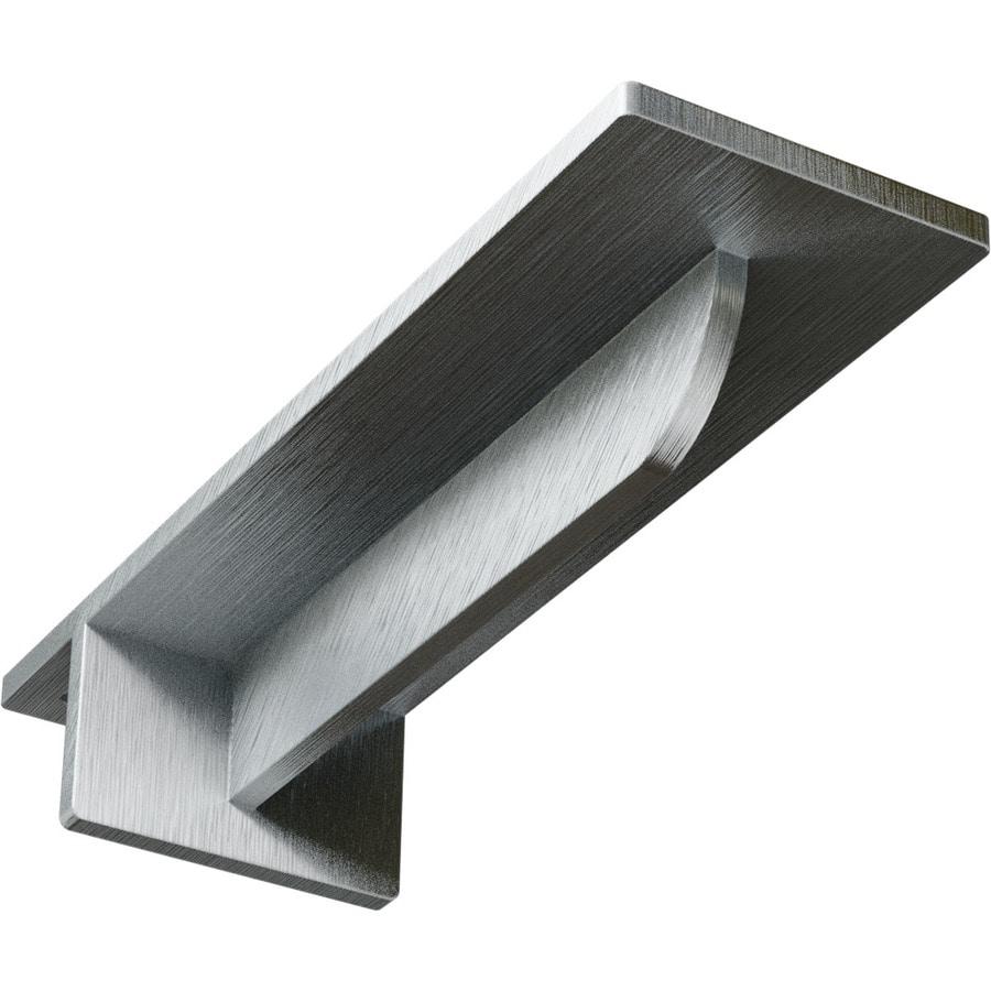 Ekena Millwork Heaton 2-in x 3-in x 16-in Plain Steel Countertop Support Bracket