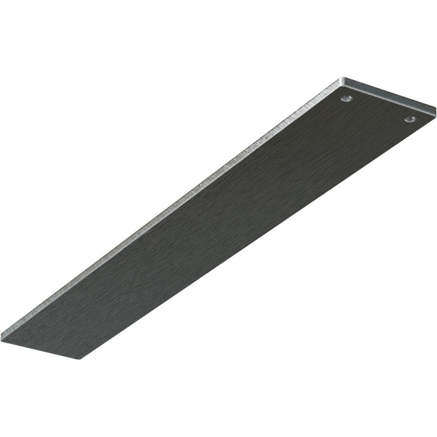 Ekena Millwork Logan 0.25-in x 3-in x 16-in Plain Steel Countertop Support Bracket