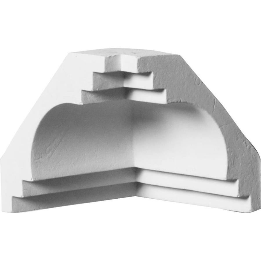 Ekena Millwork 2.75-in x 2.75-in Polyurethane Inside Corner Crown Moulding Block