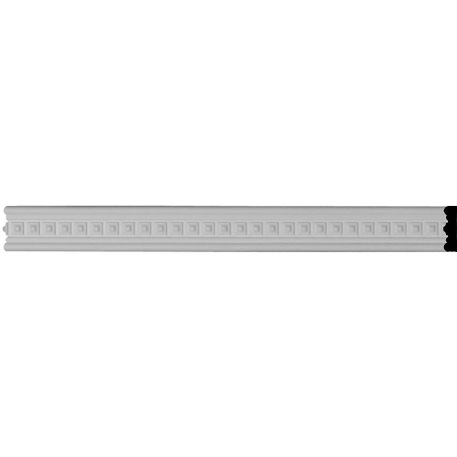 Ekena Millwork Sequential 1.375-in x 7.88-ft Polyurethane Connector Wall Panel Moulding