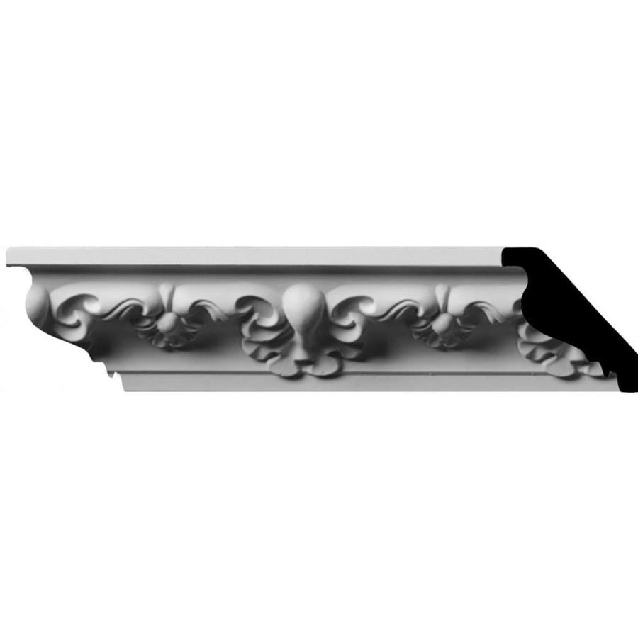 Ekena Millwork 2-in x 8-ft Primed Polyurethane Crown Moulding