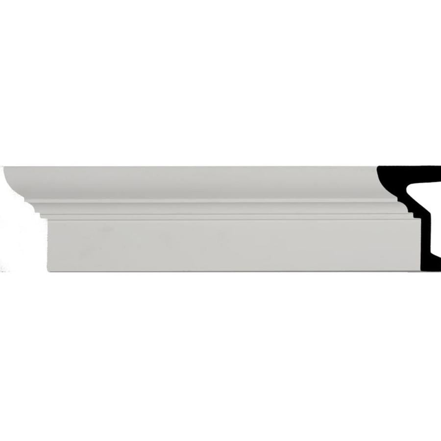 Ekena Millwork 6.25-in x 7.88-ft Polyurethane Standard Crown Moulding