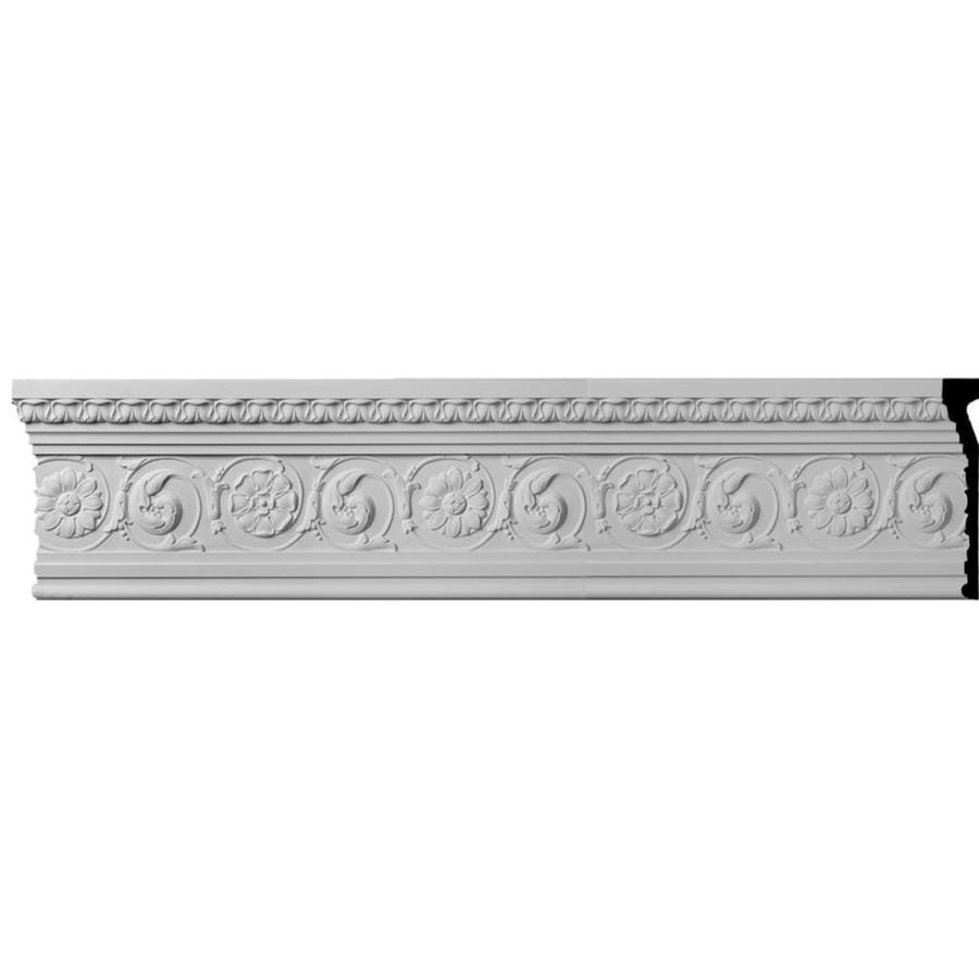 Ekena Millwork 11.25-in x 8-ft Primed Urethane Bedford Crown Moulding