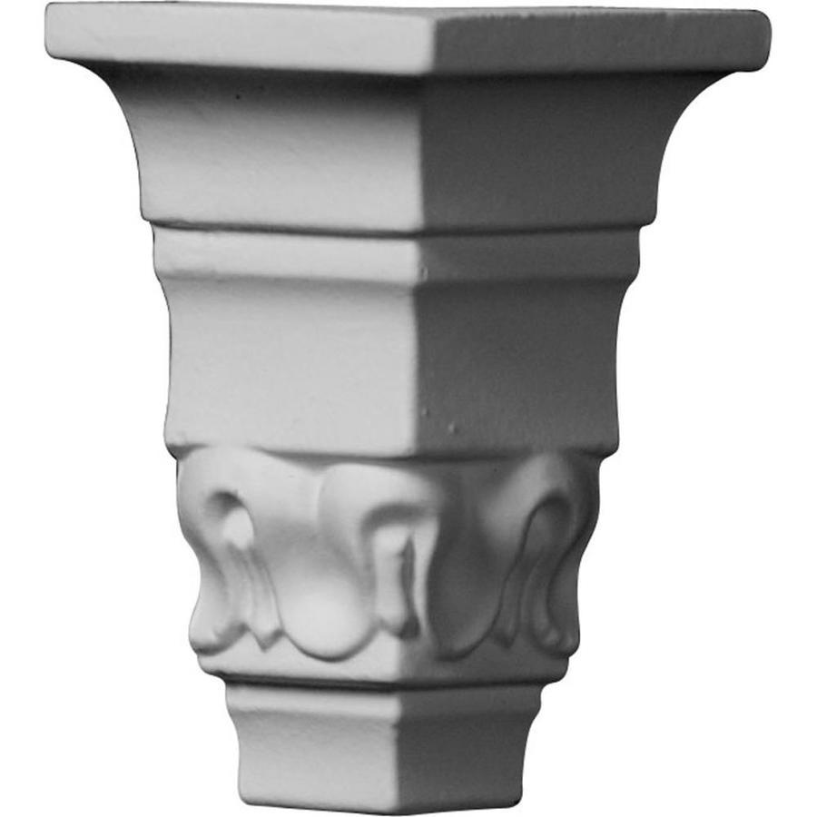 Ekena Millwork 1.5-in x 1.5-in Polyurethane Outside Corner Crown Moulding Block