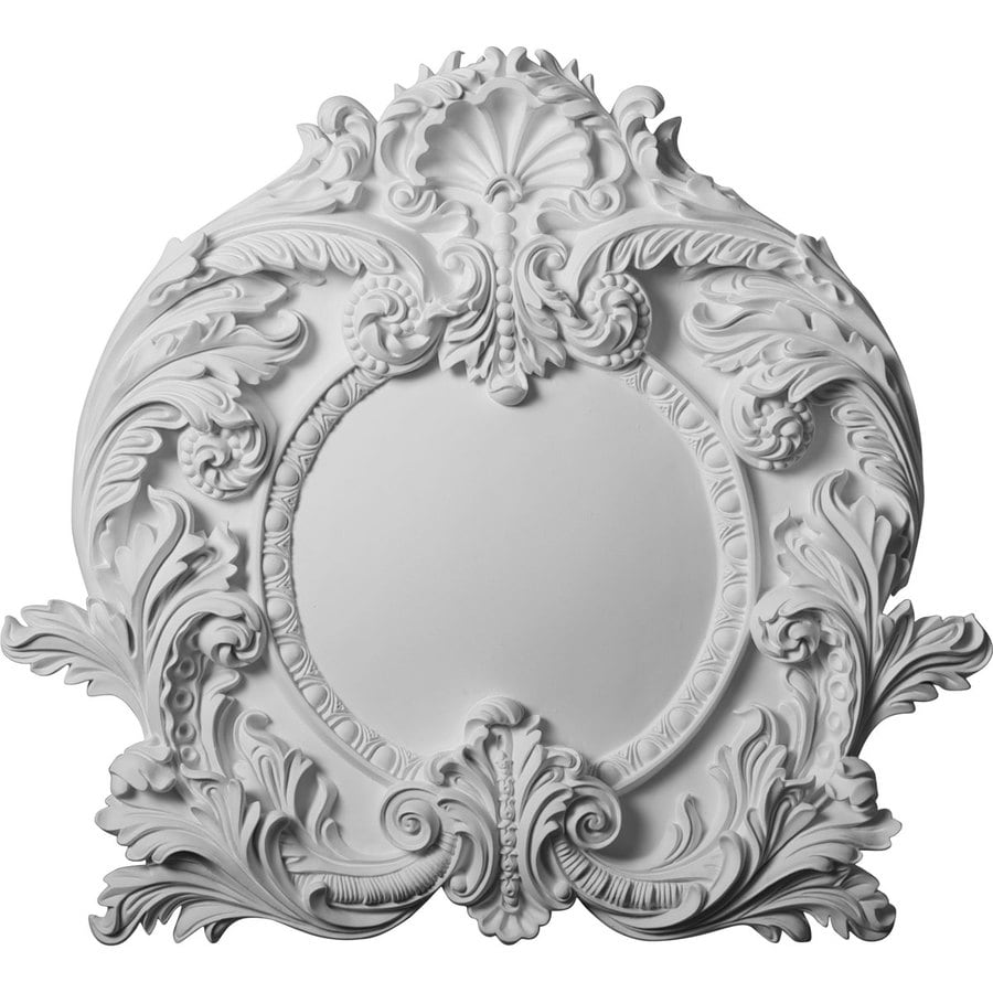Ekena Millwork 21.625-in x 19.75-in Modena Primed Urethane Applique