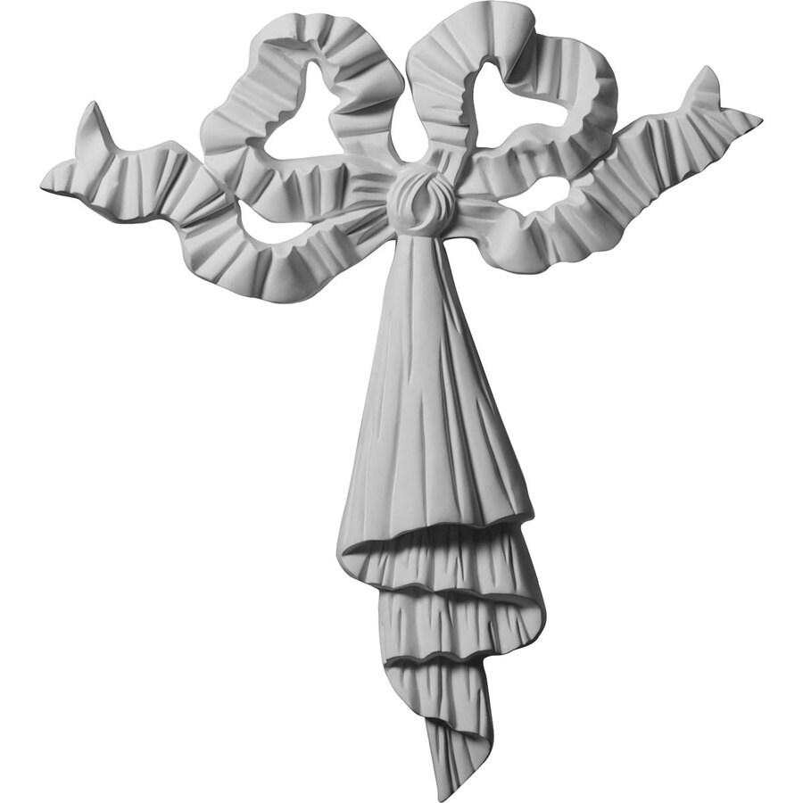 Ekena Millwork 24.75-in x 27.375-in Ribbon Urethane Applique
