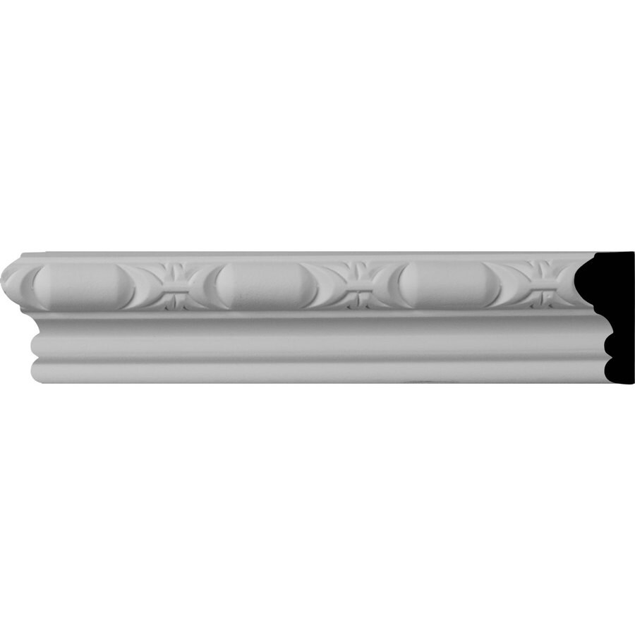 Ekena Millwork Classic 1.75-in x 8-ft Primed Polyurethane Connector Wall Panel Moulding